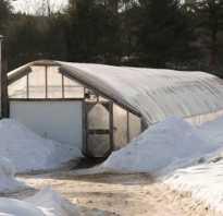 Проекты зимних теплиц