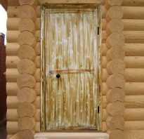 Дверь в парную фото