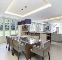 Идеи потолка из гипсокартона для кухни