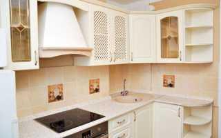 Дизайн маленькой кухни с газовой