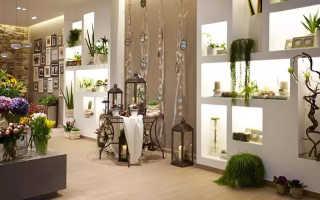 Дизайн цветочного магазина в стиле прованс фото
