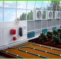 Проект теплицы с отоплением