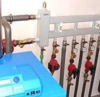 Схема отопления с гидрострелкой и коллектором
