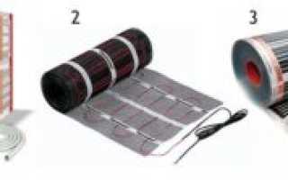 Какой теплый пол лучше пленочный или кабельный