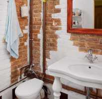 Бюджетный вариант ремонта ванной