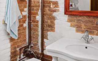 Бюджетный ремонт в ванной комнате фото