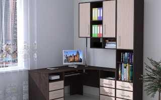 Компьютерный стол со шкафом