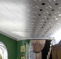 Отделка потолка в контактных осветлителей