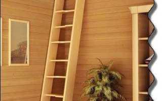 Простые лестницы на чердак