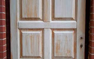 Деревянные двери реставрация своими руками