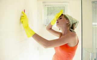 Убрать плесень в ванной самостоятельно