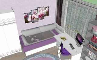 Спроектировать детскую комнату онлайн самостоятельно бесплатно