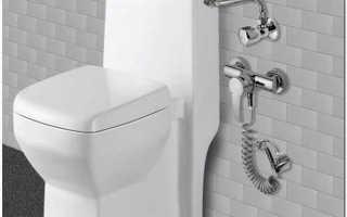 Гигиенический душ для унитаза как установить
