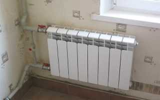 Схема работы радиатора отопления
