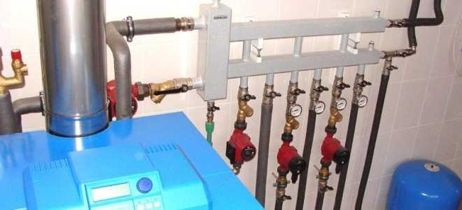 Схема отопления с гидрострелкой