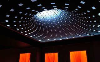 3д натяжные потолки увеличивающие пространство